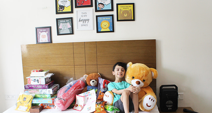 Viraaj's Sixth Birthday
