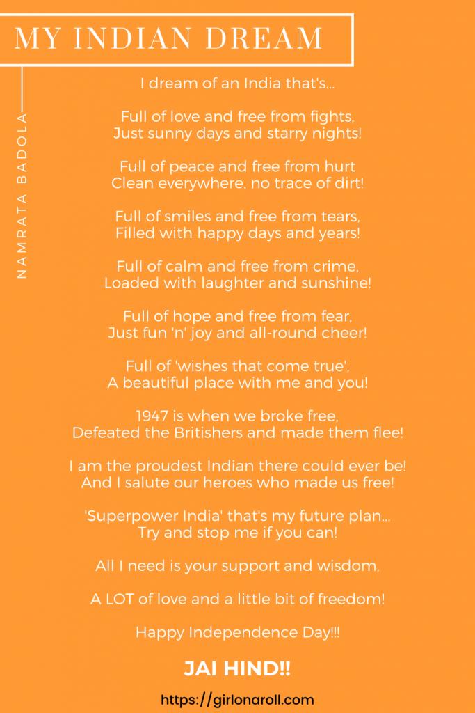Independence Day Poem By Namrata